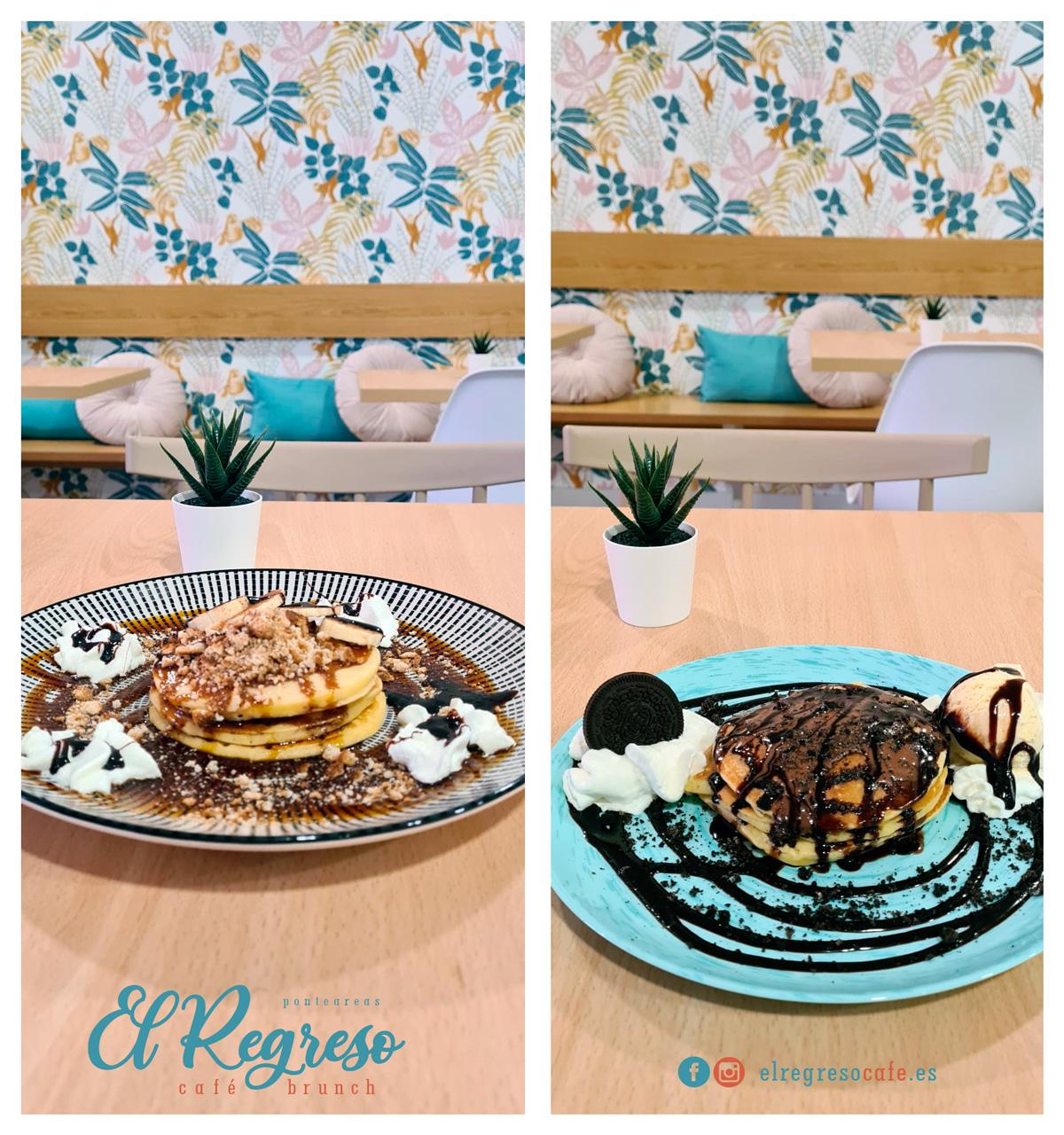 El Regreso Café - Tortitas